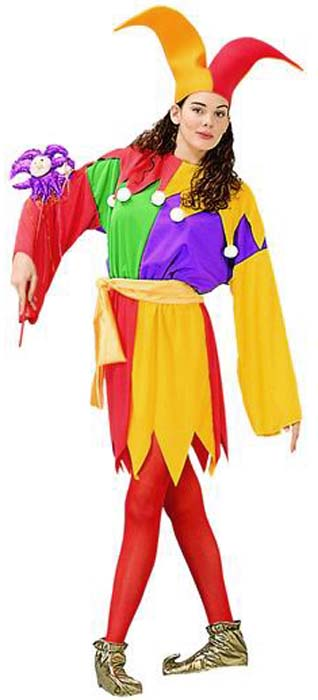 Women Jester Costume