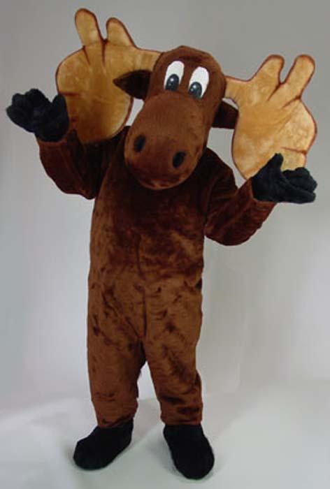 Fun 39 n folly moose mascot costume - Fake stuffed moose head ...