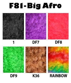 Big Afro Colors